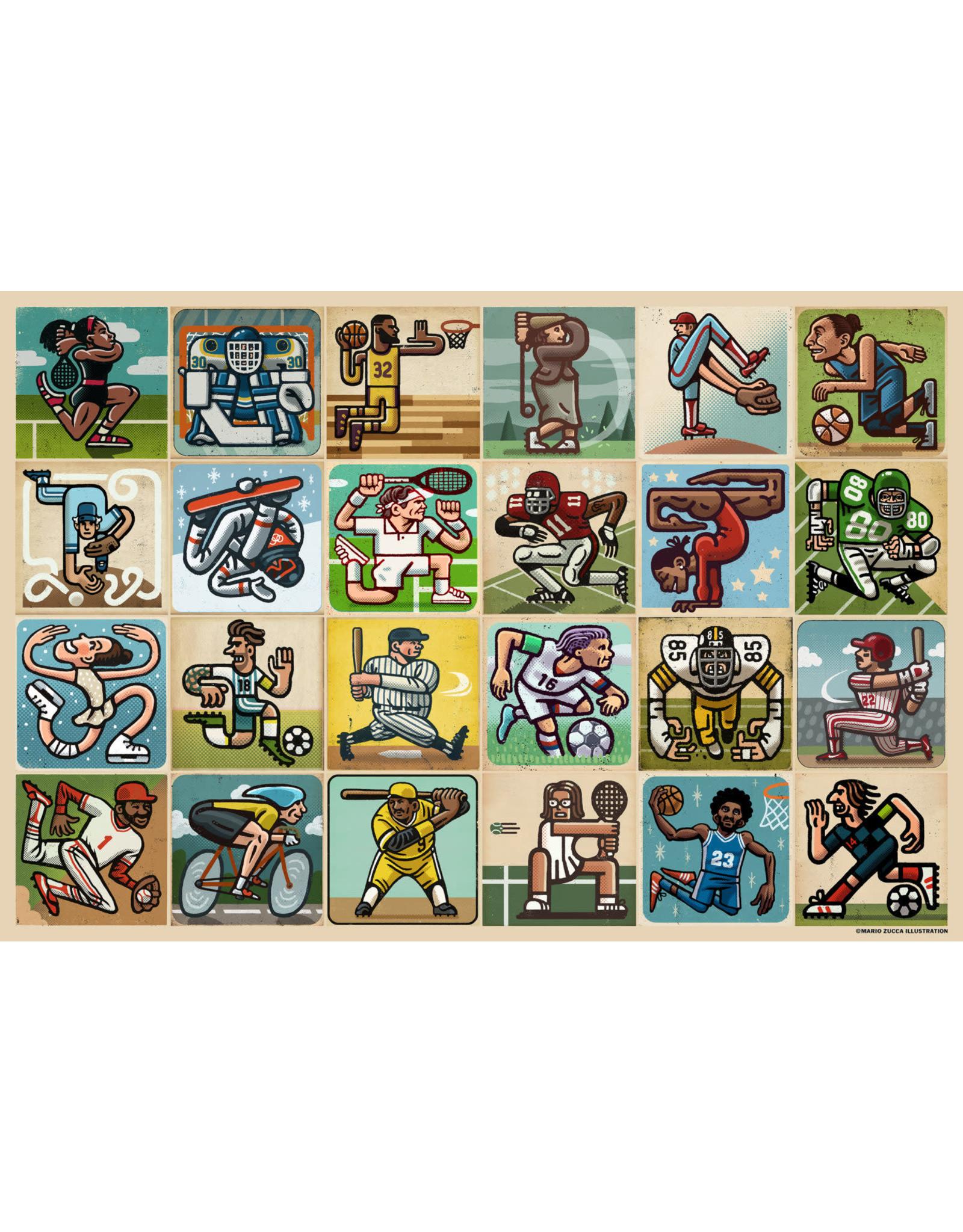 Ravensburger 300 pcs. Awesome Athletes Puzzle