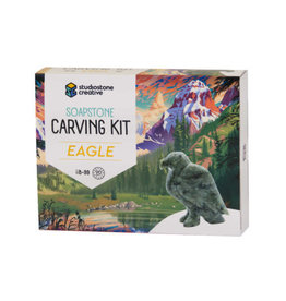 Studiostone Creative Eagle Soapstone Carving Kit