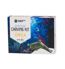 Studiostone Creative Orca Soapstone Carving Kit