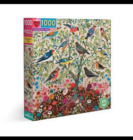 Eeboo 1000 pcs. Songbirds Tree Puzzle