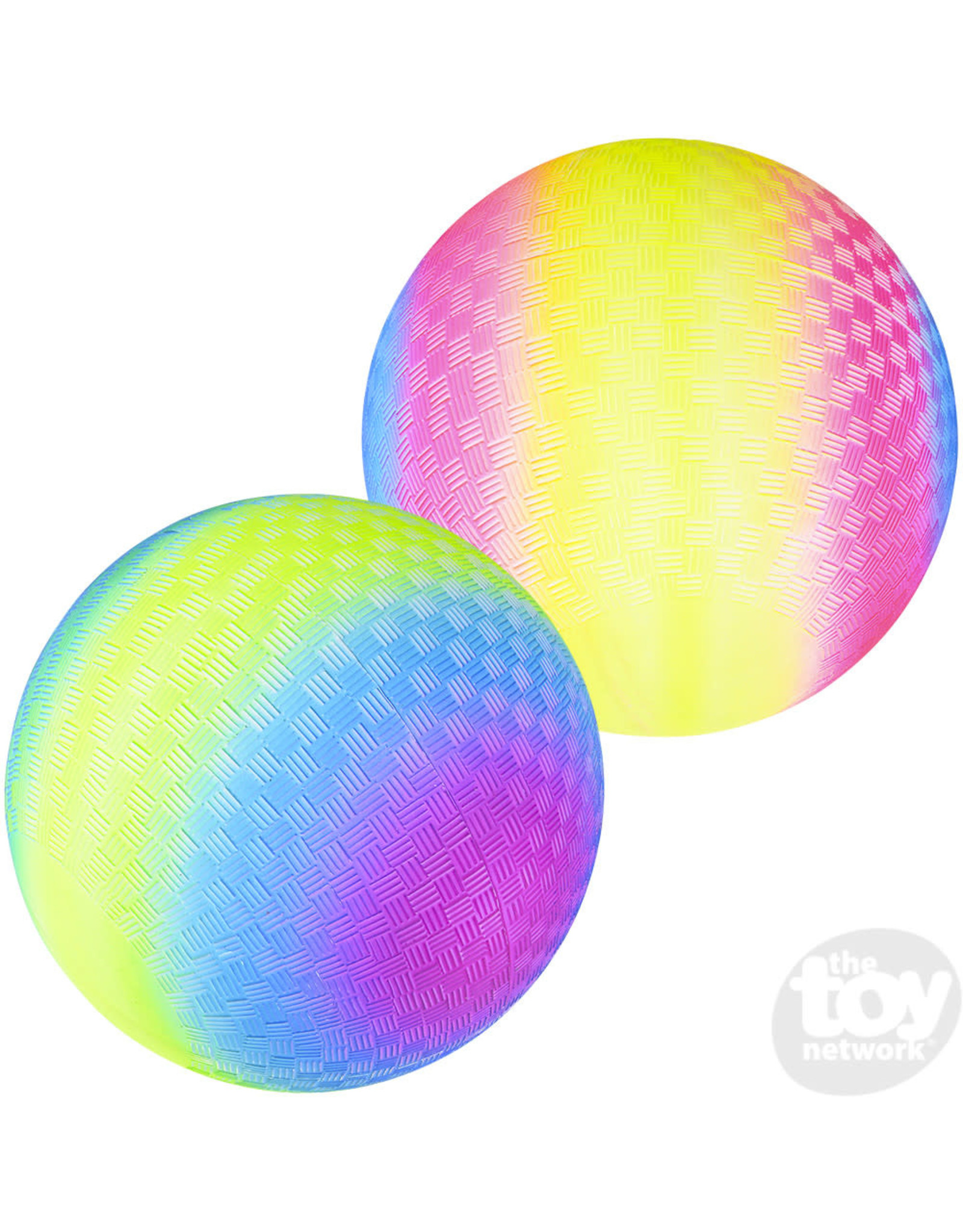 "The Toy Network Rainbow Playground Ball 9"""