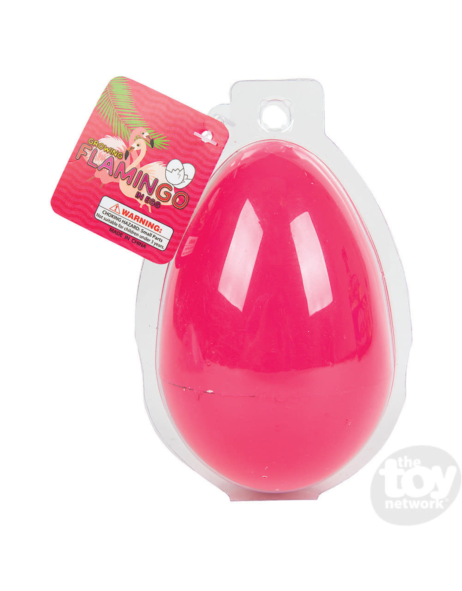 The Toy Network Jumbo Growing Flamingo Egg 4.25""