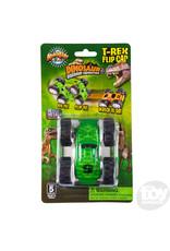 The Toy Network Dinosaur Friction Tumbler Flip Car