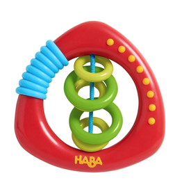 Haba Clutching Toy, Rattle Rings