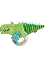 Haba Clutching Toy, Fabric Crocodile
