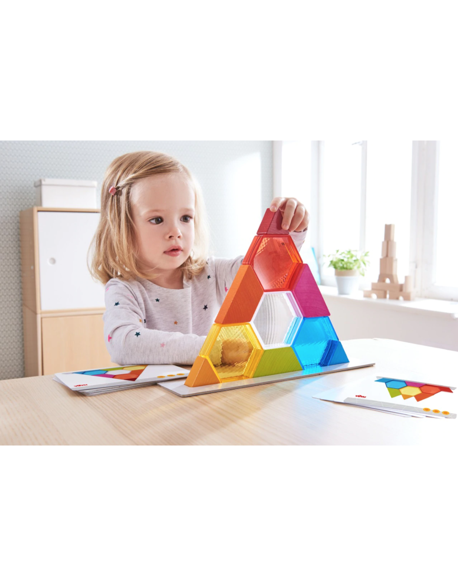 Haba Colour Crystals Stacking Game