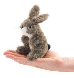 Folkmanis Mini Finger Puppet, Jack Rabbit