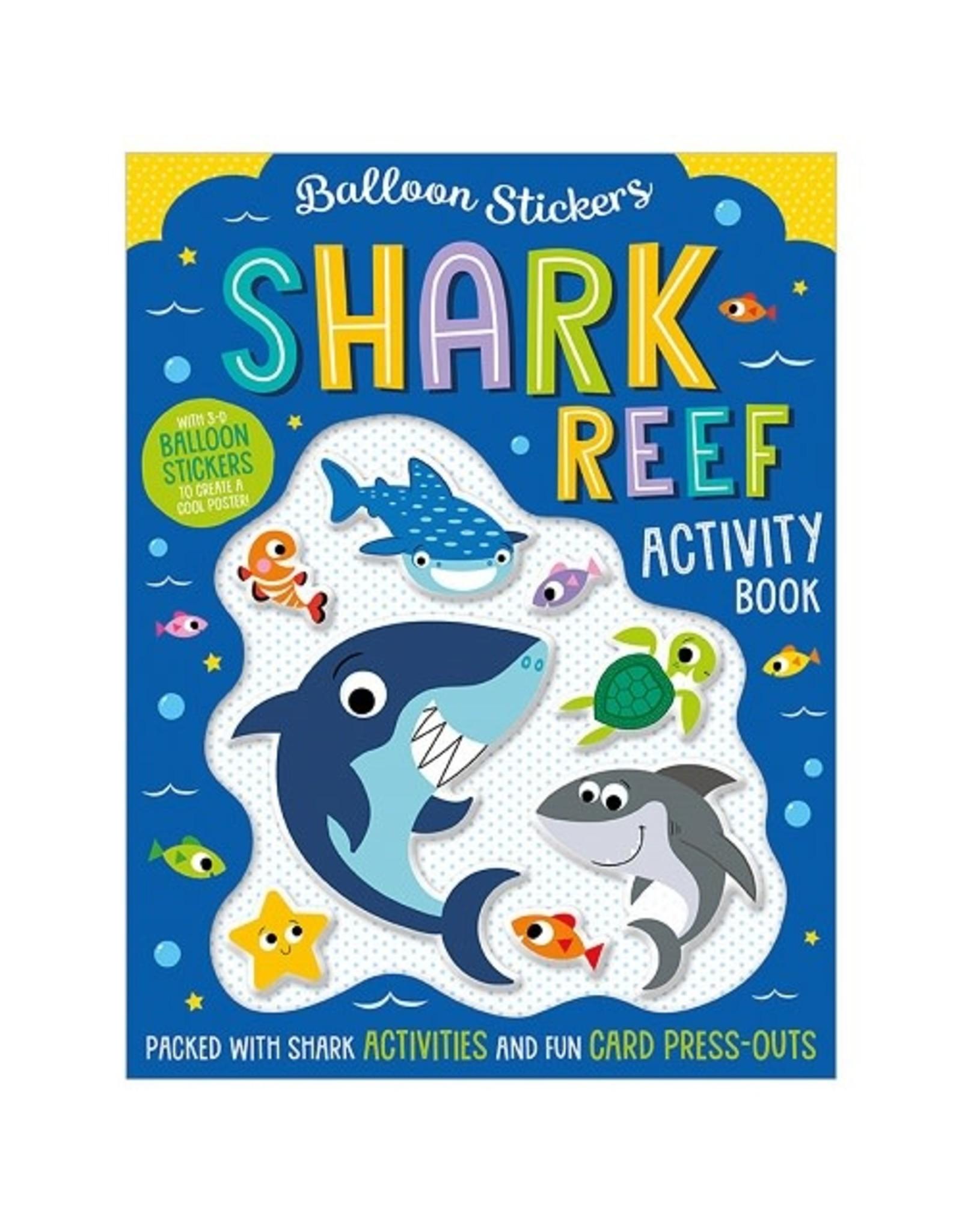 Fire the Imagination Balloon Stickers: Shark Reef Activity Book