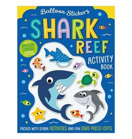 Fire the Imagination Balloon Stickers: Shark Reef Activity Book
