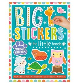 Fire the Imagination Big Stickers for Little Hands Teal - Animal Kingdom