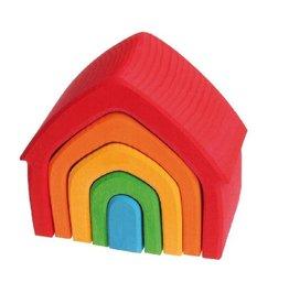 Grimm's Spiel & Holz Design House Multi-Coloured