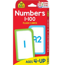 Playwell Numbers 1-100 Flash Cards