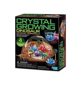 4M Crystal Growing Dinosaur Terrarium