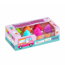 Ooly Petite Sweets Ice Cream Scented Eraser, Set of 6