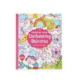 Ooly Colouring Book, Enchanting Unicorns
