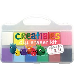 Ooly Creatibles DIY Eraser Kit, Set of 12