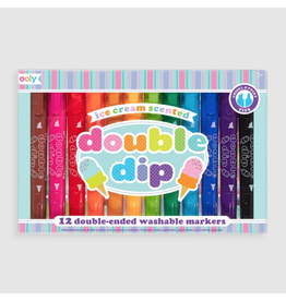 Ooly Double Dip Scented Markers, Set of 12