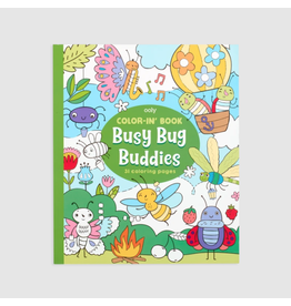 Ooly Color-In Book, Busy Bug Buddies