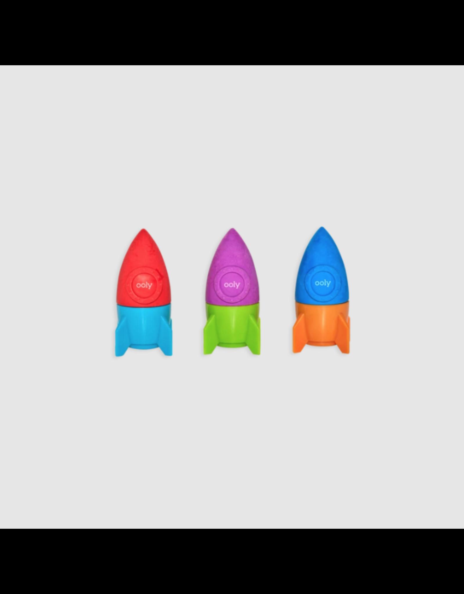 Ooly Blast Off Eraser & Pencil Sharpener Assortment