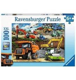 Ravensburger 100 pcs. Construction Trucks Puzzle