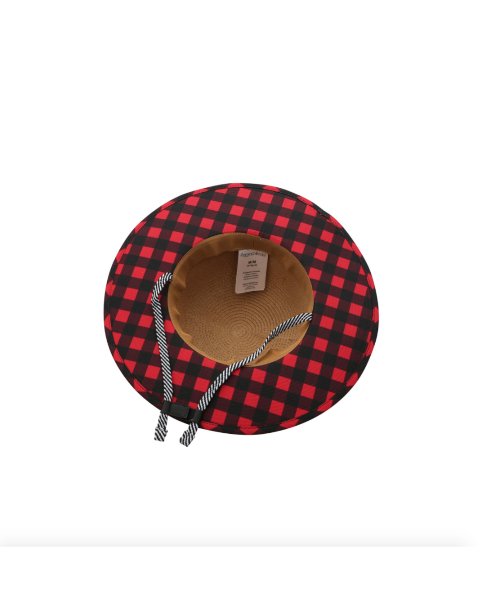 FlapJackKids Straw Hat Bear, Medium