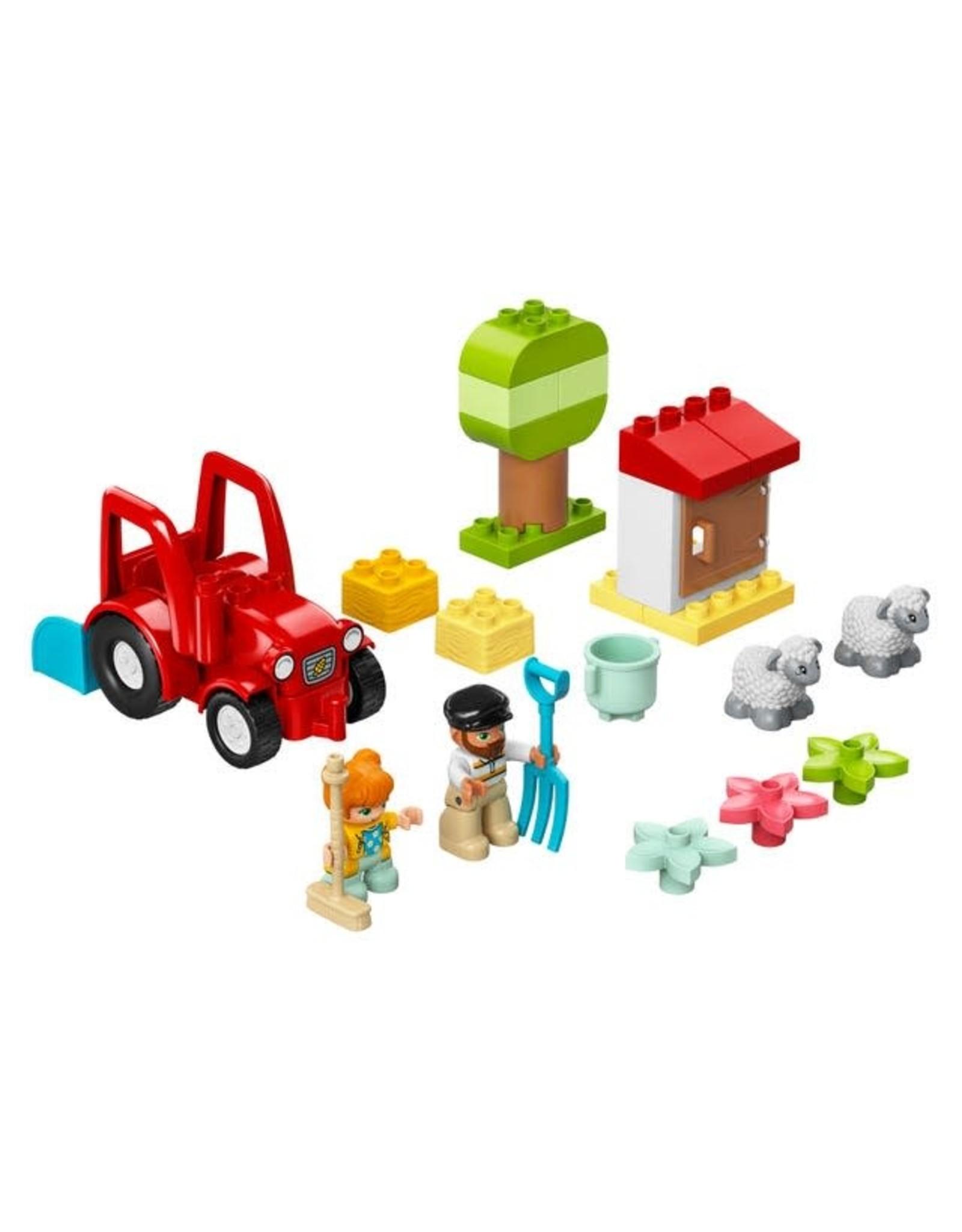 LEGO LEGO Duplo Farm Tractor & Animal Care