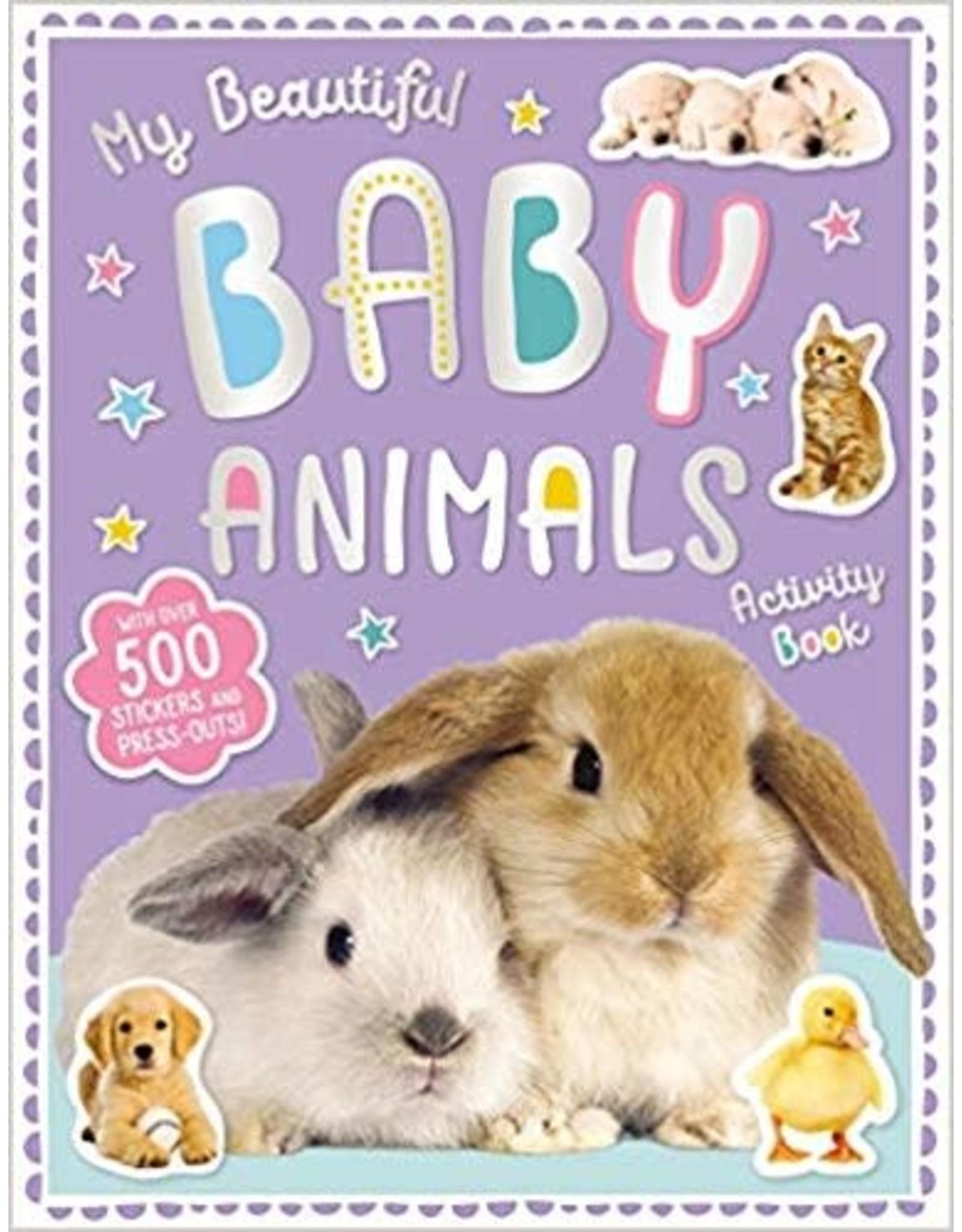 My Beautiful Baby Animal Sticker Activity Book