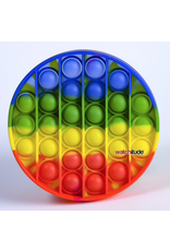 Watchitude Pop'd Silicone Mat, Rainbow Disc