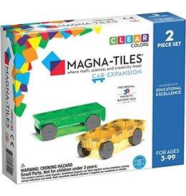 Valtech Magna-Tiles Cars 2 Piece Expansion Set