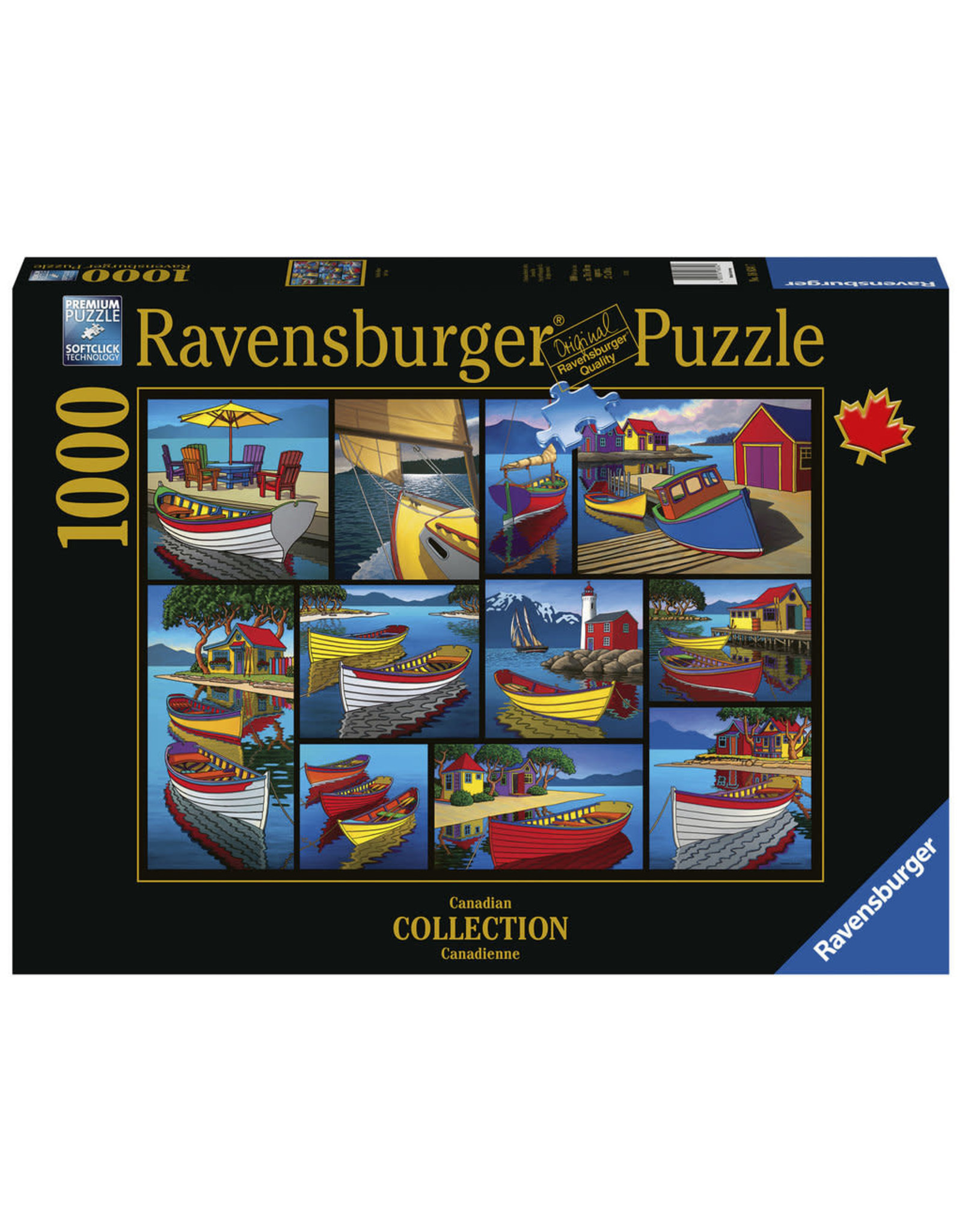 Ravensburger 1000 pcs. On the Water Puzzle