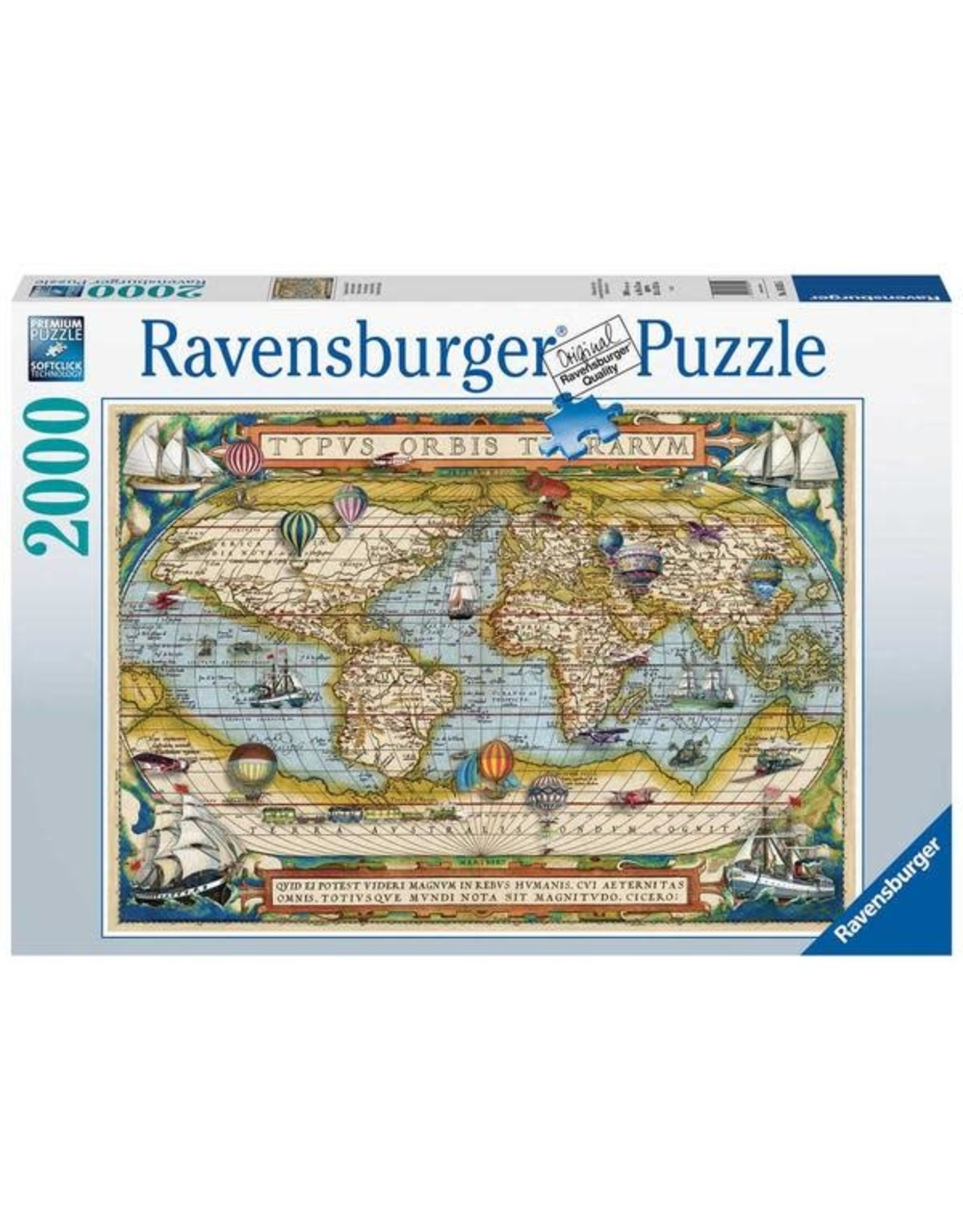 Ravensburger 2000 pcs. Around the World Puzzle