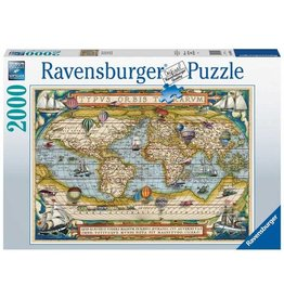 Ravensburger 2000 pcs. Around the World Puzzle