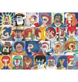 Ravensburger 500 pcs. Typefaces Puzzle
