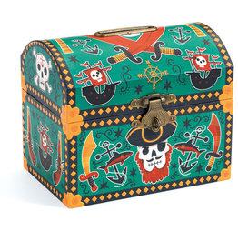 Djeco Money Box, Pirates