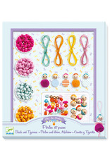 Djeco Beads, Pearls and Figurines