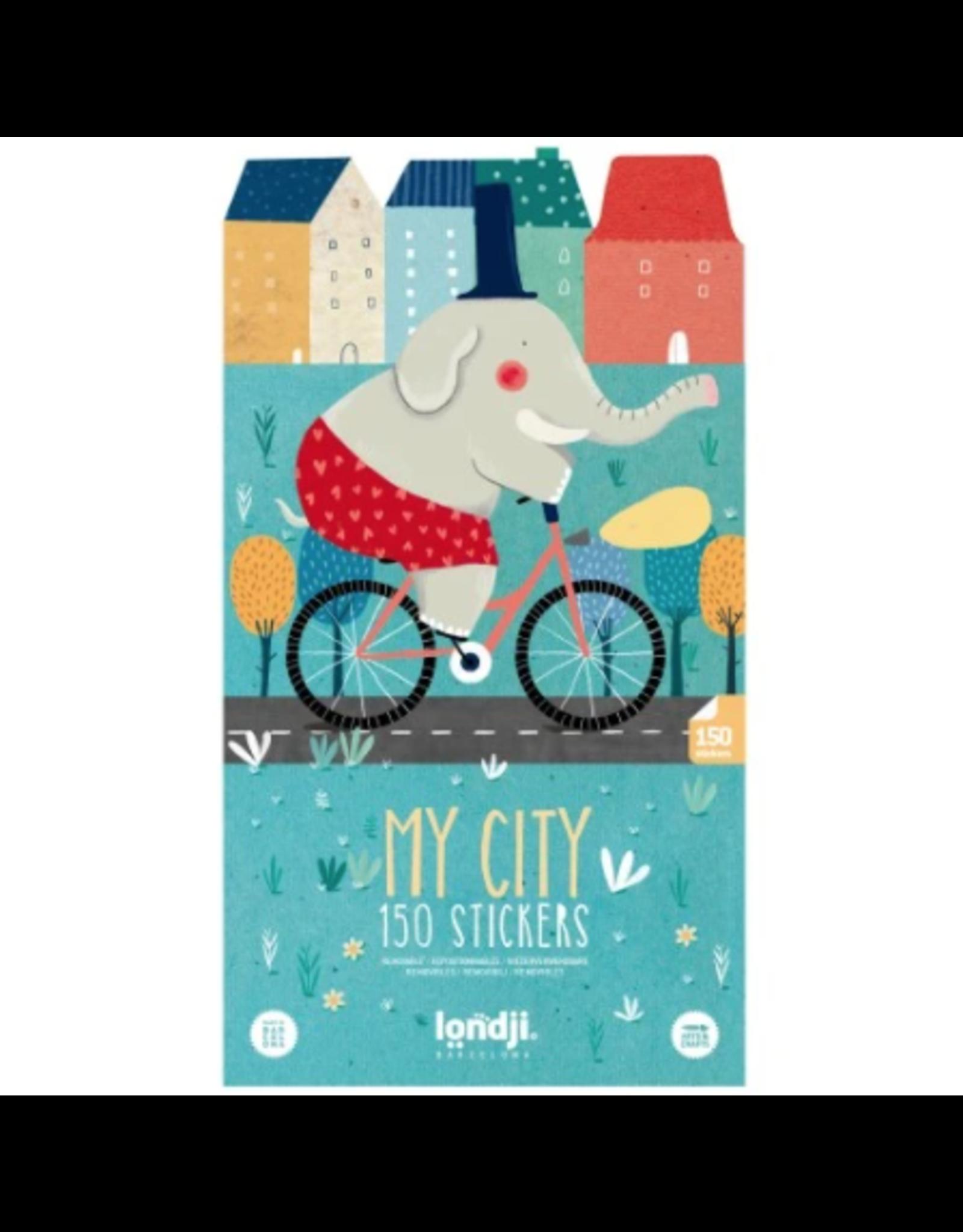 Londji 150 Stickers, My City