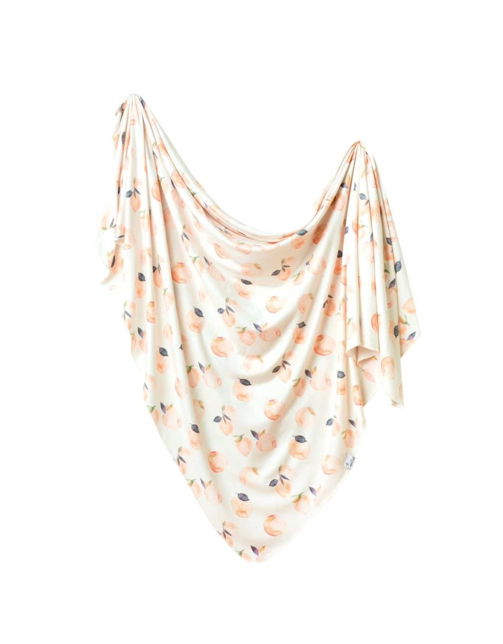 Copper Pearl Caroline Swaddle Blanket