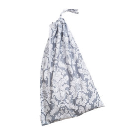 Bebe au Lait Laundry Bag, Chateau Silver