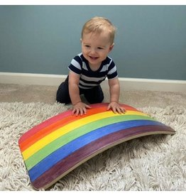 Bunny Hopkins Rainbow Wobble Board, Starter