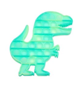 Top Trenz OMG Pop Fidgety, Tie Dye Dinosaur