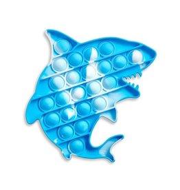 Top Trenz OMG Pop Fidgety, Tie-Dye Shark