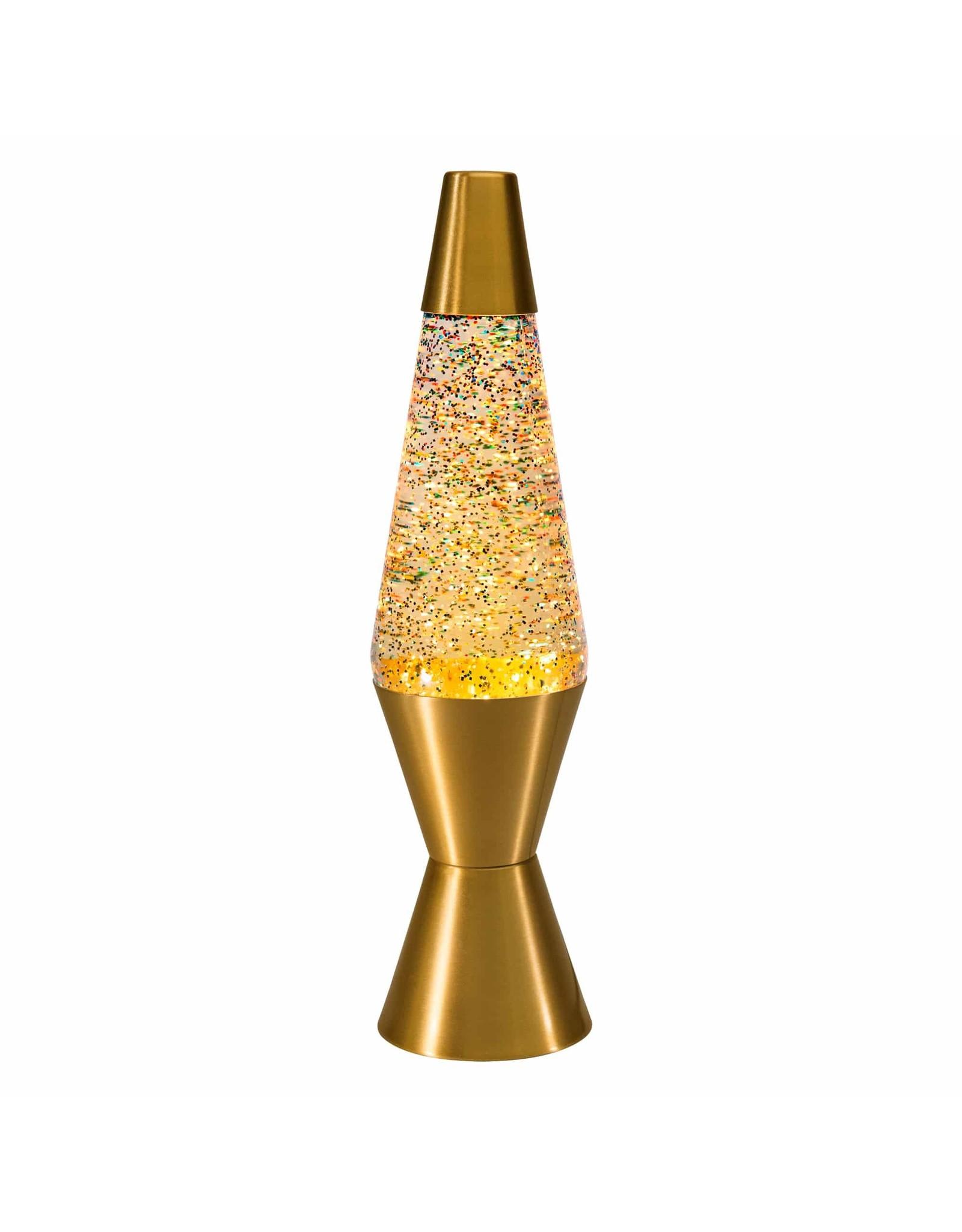"Schylling 14.5"" Lava Lamp, Rainbow Glitter"