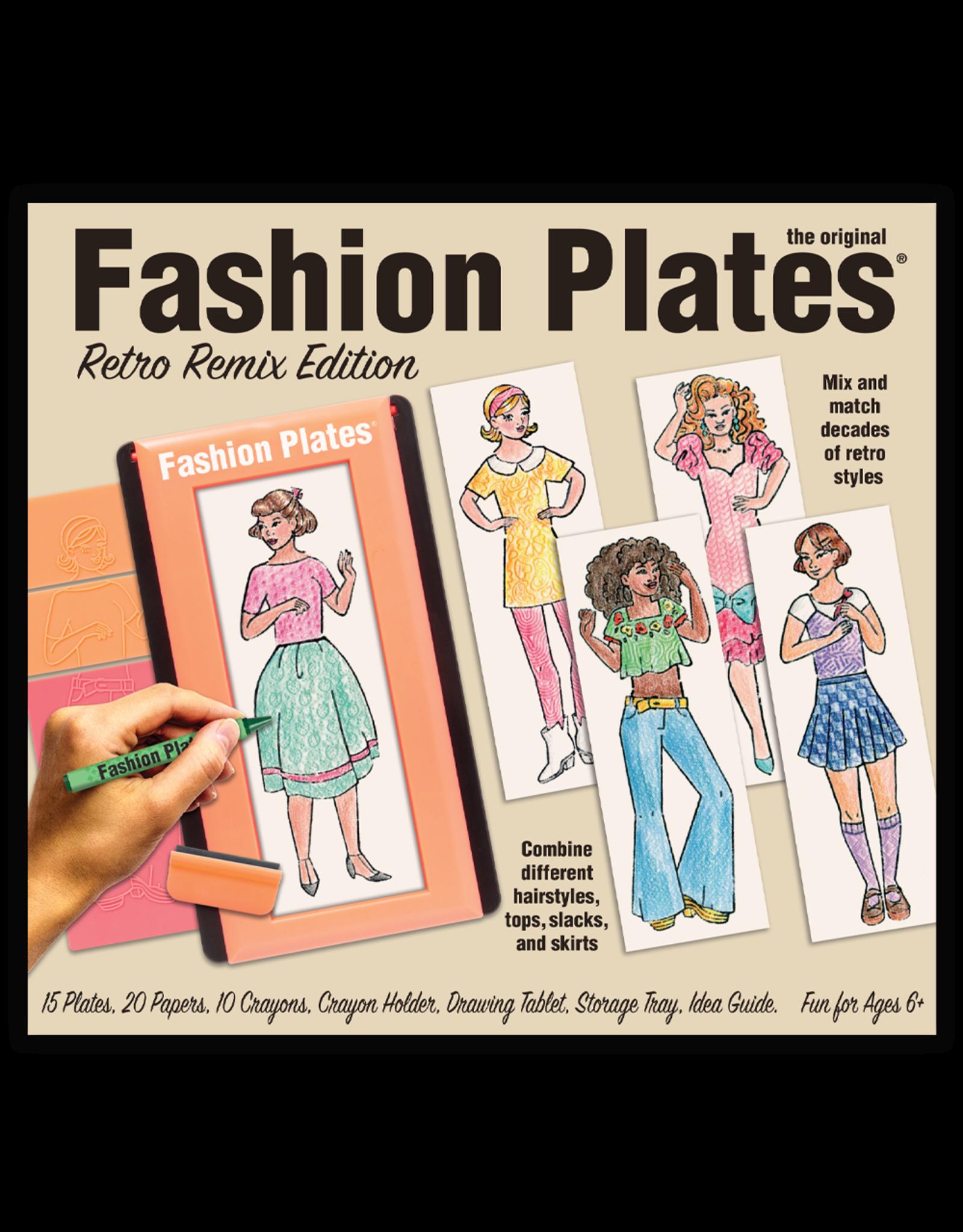 Kahootz Fashion Plates, Retro Remix