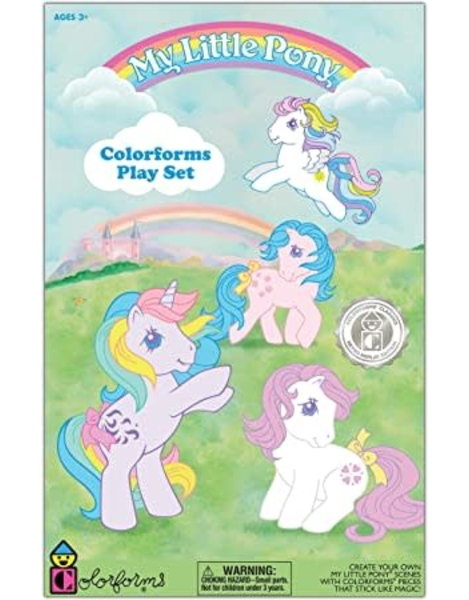 Kahootz Colorforms, My Little Pony