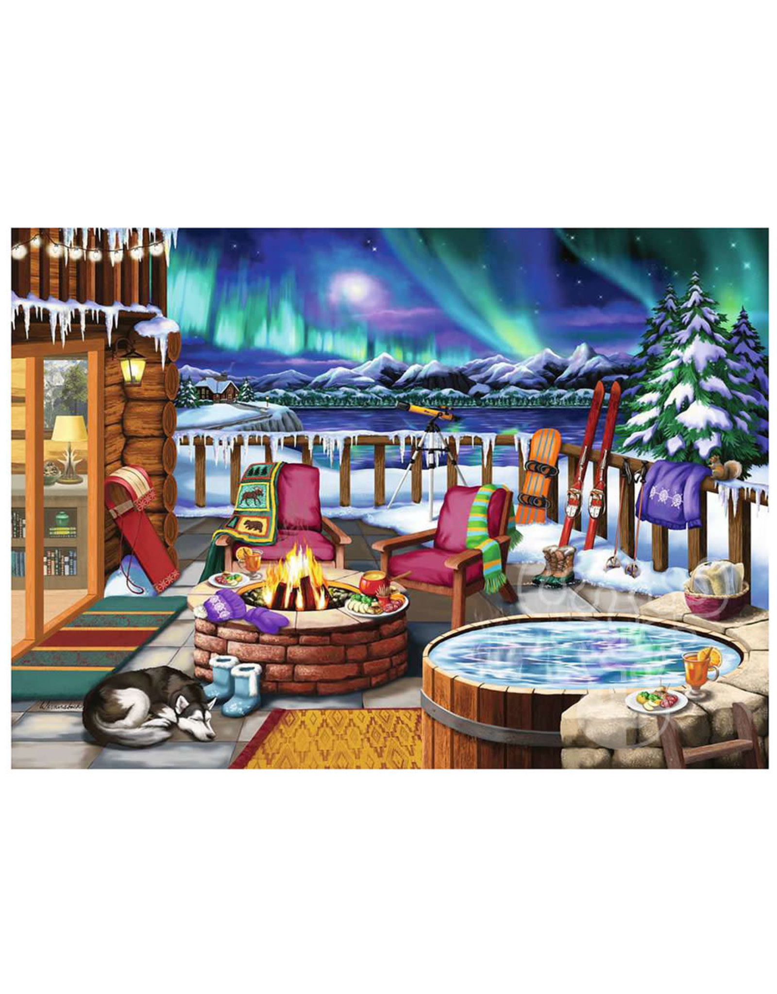 Ravensburger 500 pcs. Northern Lights Puzzle