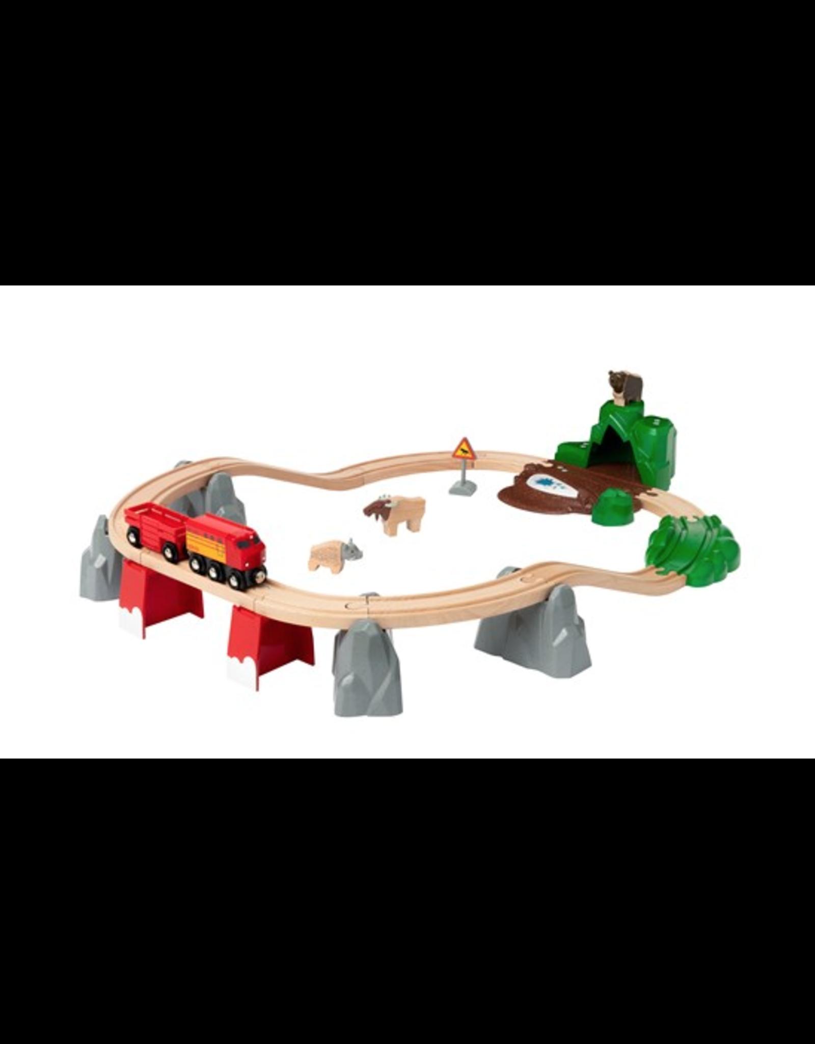 Brio Nordic Animal Train Set