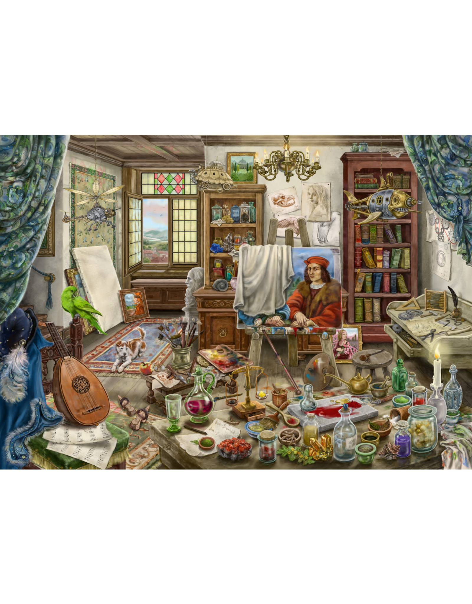 Ravensburger 759 pcs. The Artist's Studio Escape Puzzle