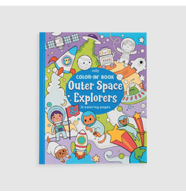 Ooly Colouring Book, Outer Space Explorers