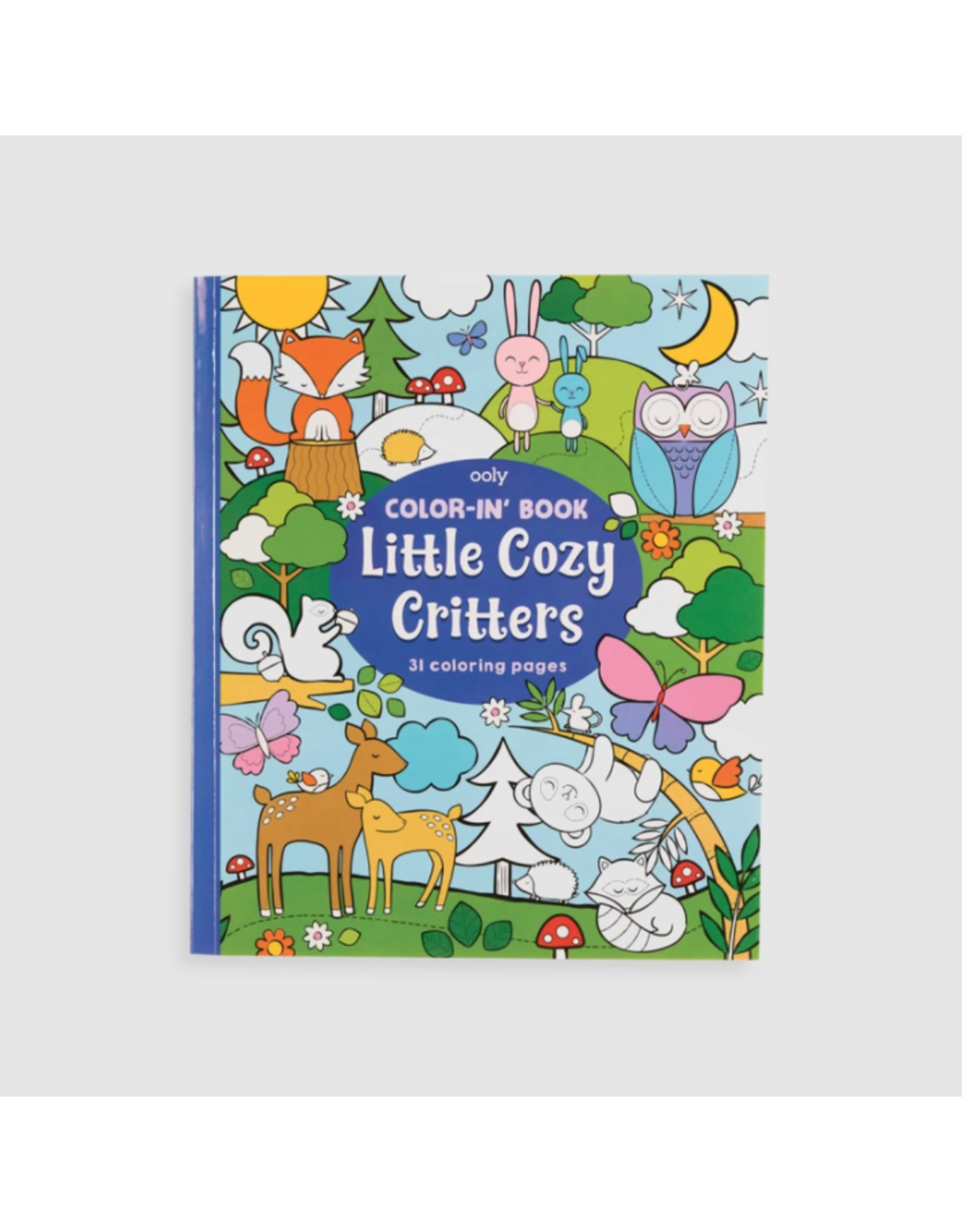 Ooly Colouring Book, Little Cozy Critters