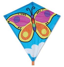 "Premier Kites 30"" Diamond Kite, Brilliant Butterfly"